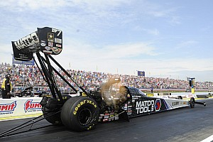Brown, Head and Enders are qualifying leaders at NHRA Kansas Nationals