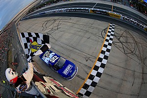 Reddick robs Jones of victory in Truck race at Dover