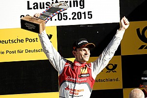 Lausitz DTM: Green passes Ekstrom to win again