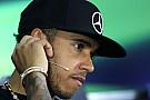 Hamilton y su choque: