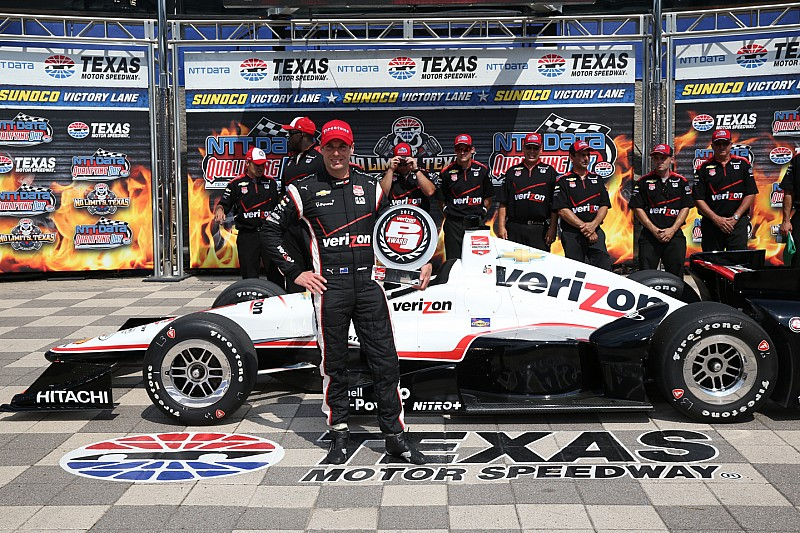 Will Power leads Penske 1-2-3 in Texas qualifying