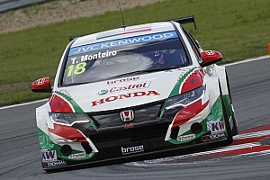 WTCC Race report Tiago Monteiro secures brilliant victory in Russia!