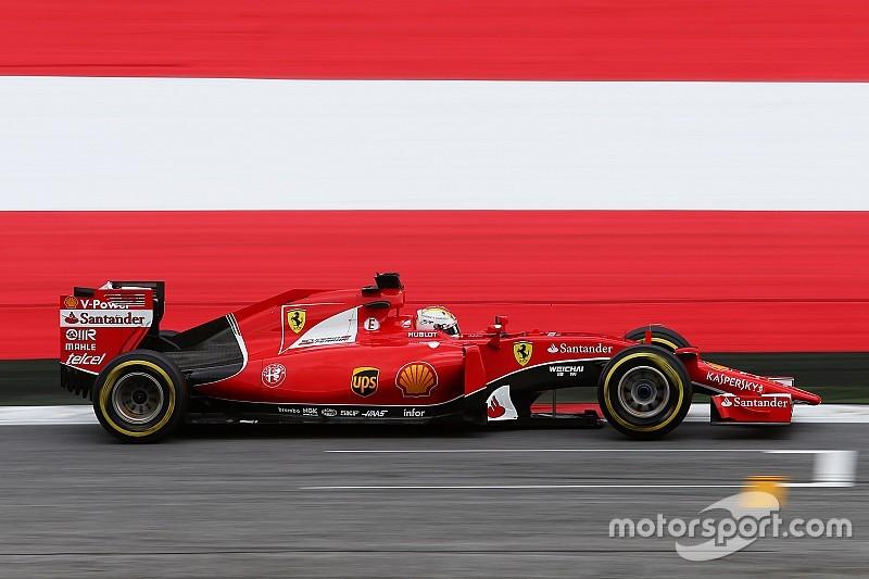Austrian GP: Vettel fastest in FP2, Hamilton struggles