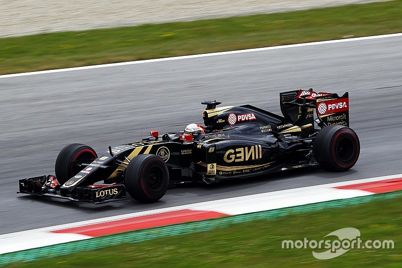 Grosjean qualifies P9 and Maldonado P10 for the Austrian GP