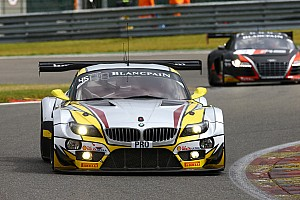 Blancpain Endurance Testing report BMW quickest at Spa 24 Hours test day – ahead of new Lamborghini