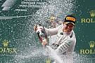 Rosberg recibe felicitaciones por su cumpleaños