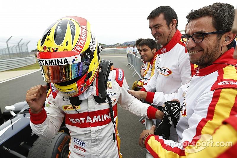 Silverstone GP2: Haryanto takes third Sprint win