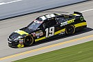 Carl Edwards takes big hit from Brian Scott - video