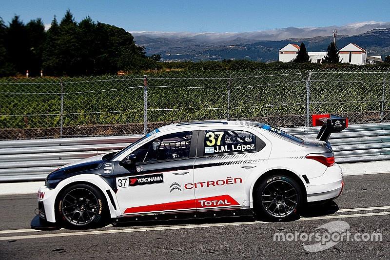 López lidera una demorada sesión de pruebas en Vila Real