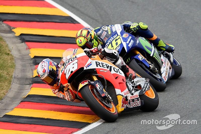 Para Pedrosa, vencer a Rossi fue un aliciente importante