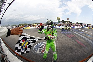 NASCAR Sprint Cup Race report The comeback continues for Kyle Busch with New Hampshire win