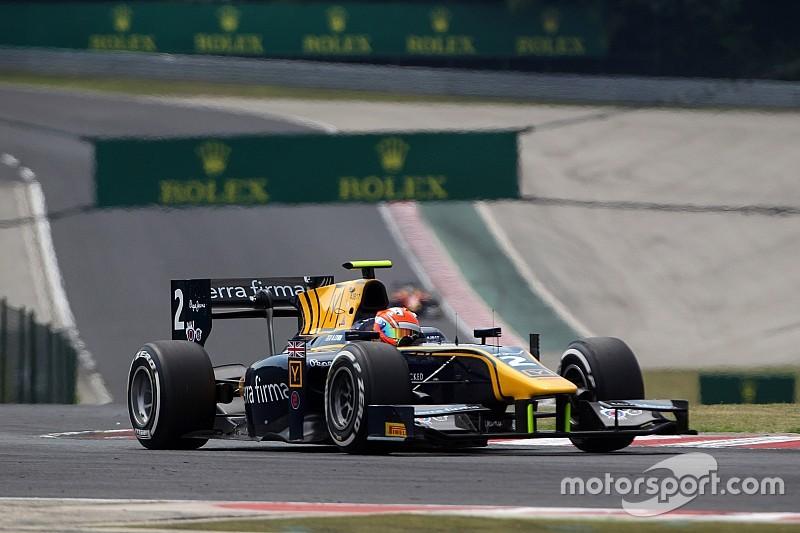 Na estratégia, Lynn vence primeira prova da GP2 na Hungria