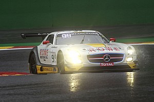 Blancpain Endurance Race report Spa 24: Mercedes, Audi and BMW fight it out as dawn breaks