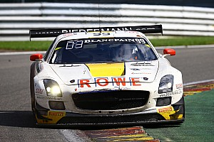 Blancpain Endurance Race report Spa 24 Hours: Rowe Racing retired after more than 23 hours while in third place