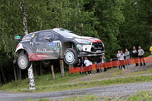 WRC Race report Another podium finish for Mads Østberg!
