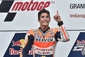 Indy MotoGP: Marquez passes Lorenzo to win, Rossi on podium