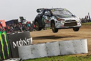 رالي كروس تقرير السباق سولبرغ وإيكستروم يتعادلان في بلجيكا