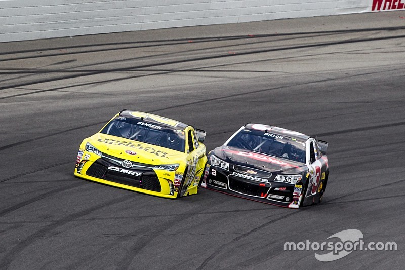 Austin Dillon picks up the pace at Michigan