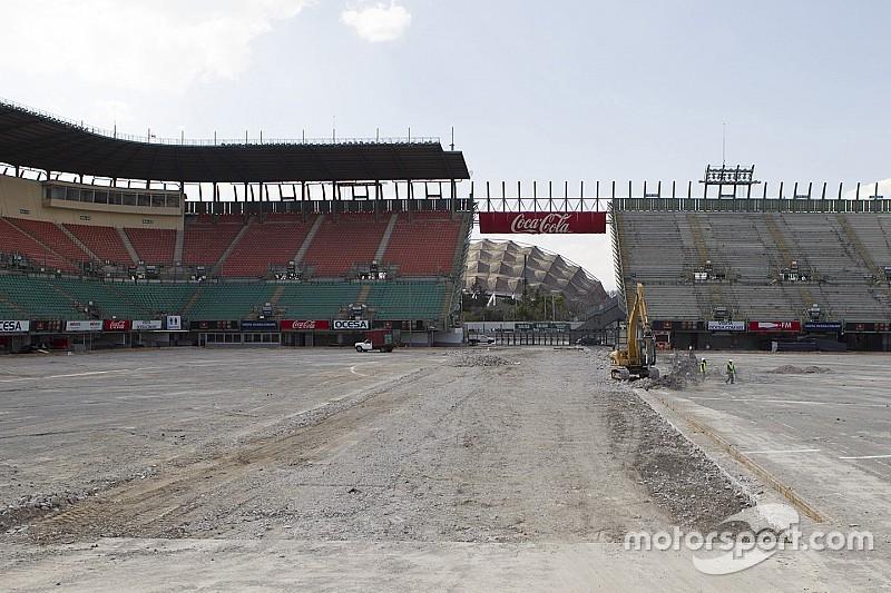 Promotor do GP do México garante pista finalizada em setembro