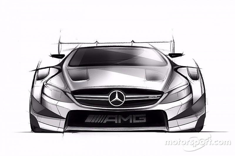 مرسيدس تكشف عن التصاميم الأولى لسيارة العام المقبل