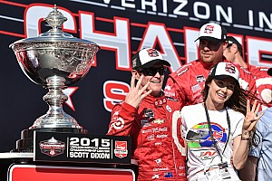 IndyCar Race report Dixon wins 2015 IndyCar title via tiebreaker