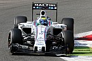 Williams test Monza package