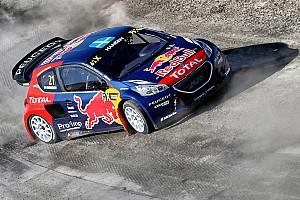 World Rallycross Race report Double heat win for Hansen puts team Peugeot-Hansen on top in France