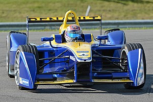 Renault e.dams to run single motor in Formula E