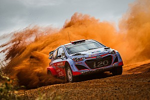 Confident start for Hyundai Motorsport on opening day of Rally Australia