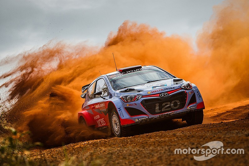 Confident start for Hyundai Motorsport on opening day of Rally Australia