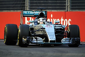 Formula 1 Qualifying report Hamilton and Rosberg to start P5 and P6 respectively for tomorrow's Singapore GP
