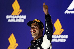 Formula 1 Race report Podium and points for Red Bull on the Singapore GP