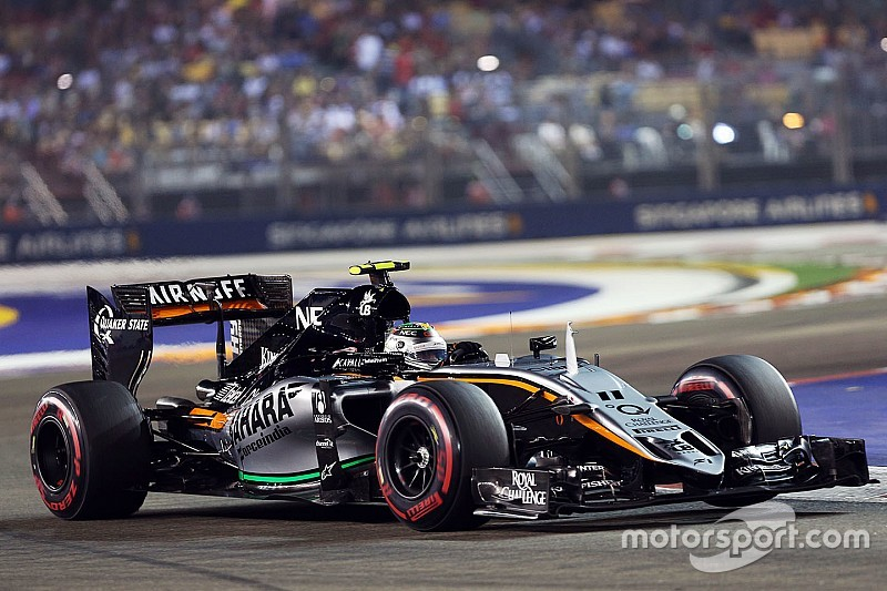 Perez relieved to score points in a 'demanding' race