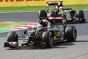 Formula 1 Race report Both Lotus drivers completes the Japanese GP in the top eight