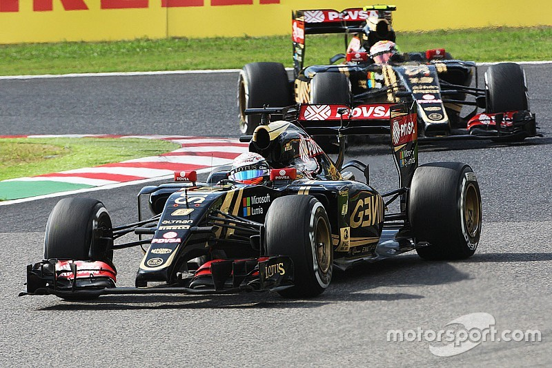 Both Lotus drivers completes the Japanese GP in the top eight