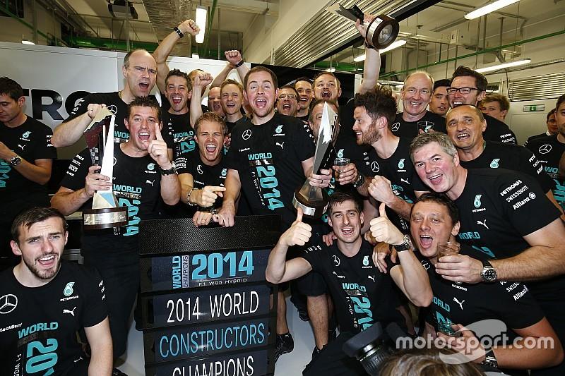 Mercedes puede ser el campeón de constructores en Sochi