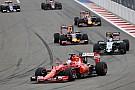 Vettel dice que el rebase a Pérez fue
