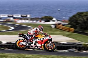 MotoGP Practice report Phillip Island MotoGP: Marquez beats Lorenzo in FP2