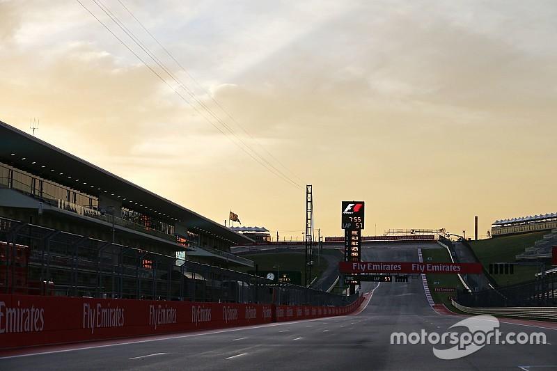 La F1 espera lluvia durante el fin de semana en Austin