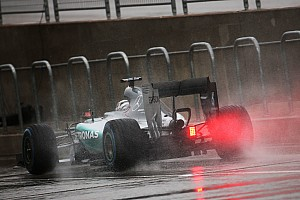 Formula 1 Practice report US GP: Hamilton dominates drenched FP3 in Austin