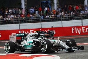 Formula 1 Qualifying report Dream Mexican debut for the Silver Arrows with a front row lockout!