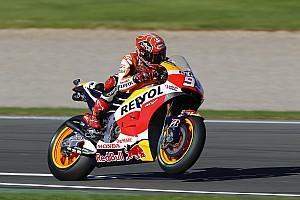 MotoGP Practice report Valencia MotoGP: Marquez fastest, Rossi fourth in FP4