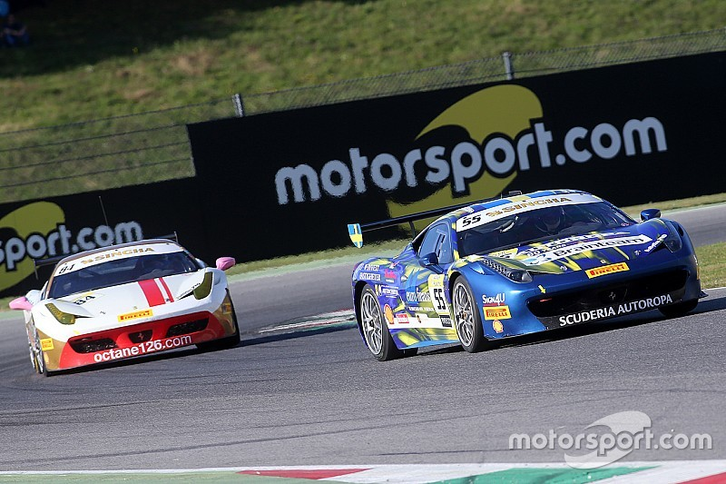 Matteo Santoponte siegt im letzten Lauf des Ferrari-Weltfinals