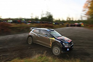 WRC Leg report Wales WRC: Ogier claims early lead as Latvala and Neuville crash out