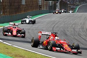 Formula 1 Race report Brazilian GP: Vettel on the podium, Raikkonen fourth
