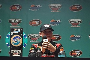 NASCAR Breaking news Todd Gilliland's first NASCAR win clouded by severe penalty