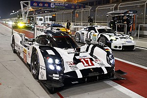 WEC Qualifying report Bahrain WEC: Points-leading Porsche takes pole for season finale