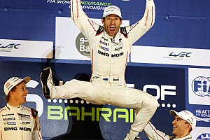 "WEC Breaking news World champion Webber delighted after ""super stressful"" race"