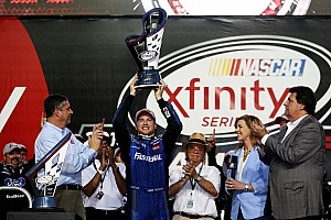 NASCAR XFINITY Race report Chris Buescher crowned champion as Larson takes the win
