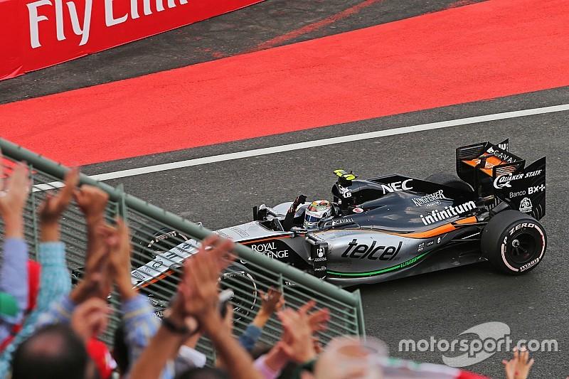 Sergio Perez: 'GP Mexico moet seizoensfinale worden'